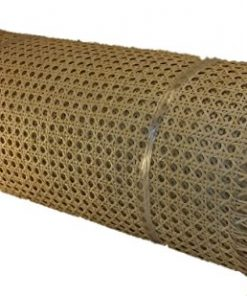 "24"" Wide Cane Webbing Standard Size Fine Open 1/2"" Mesh, Sold By the Running Foot, Qty of 1 = 12"", Qty of 2 = 24"", Qty of 3 = 36"" and so on."