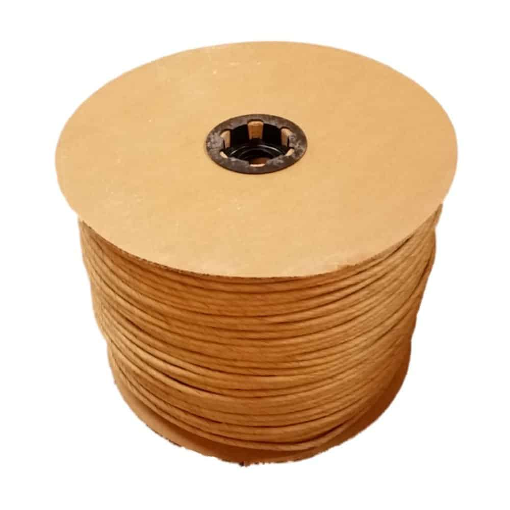 10 Pound reel of Fibre Rush Size 6/32 Enough for 4 Seats, Kraft Brown Fiber Rush Ladderback Chairs Seating Material (6/32)