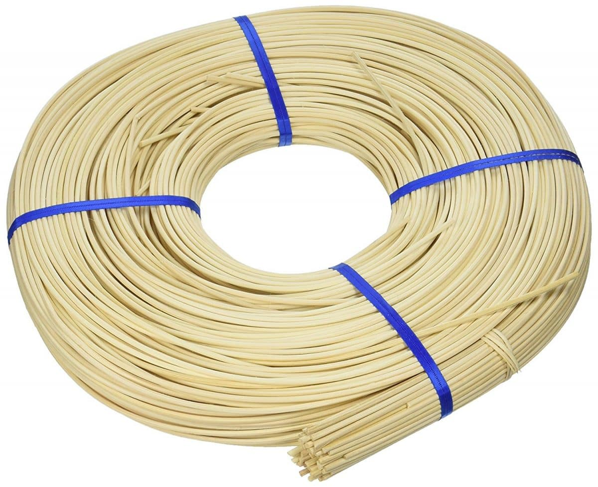 - Wicker Furniture Repair Supplies Chair Cane R-7207 Approximately 150 Feet Per One Pound Coil Hardware for Furniture Round Reed 3//16 Diameter Chair//Basket Weaving Tools