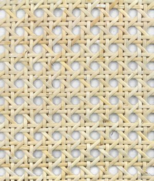 "1/2"" Open Cane Webbing - 18"" Wide Fabric - by the Foot"
