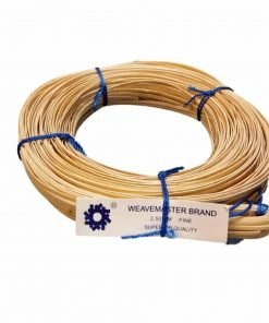 270' Coil of Cane with a Binder Strip, Choose Your Size: Superfine 2mm, Fine-fine 2.25mm, Fine 2.5mm, Narrow-medium 2.75mm, Medium 3mm (Fine 2.5mm)