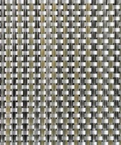 Phifertex PVC Wicker Weaves - Cane Wicker Aluminum Fabric - by the Yard