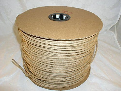 10 Pound Reel of Fibre Rush Size 5/32 Enough for 4 Seats, Kraft Brown Fiber Rush Ladderback Chairs Seating Material (5/32) (5/32)
