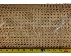 10' Roll 1/2'' Fine Open Cane Webbing 18'' Wide, 10 Foot Long Roll