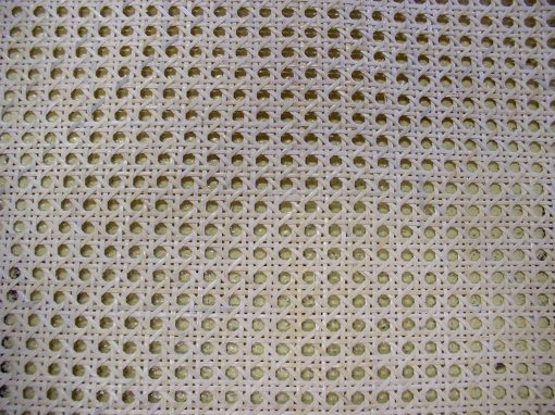 50' Roll 1/2'' Fine Open Cane Webbing 18'' Wide, 50 Foot Long Roll
