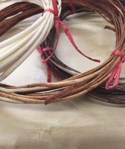 Rattan Flat Furniture Chair Basket Caning.Natural Repair Binder Cane, Cream