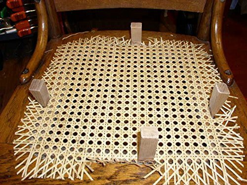 """Chair Caning / Cane Caned Seat Replacement Repair Kit Breuer 18"""" x 18"""""""