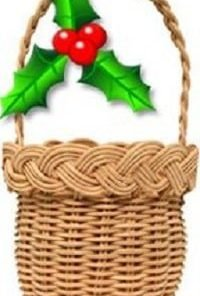Christmas Ornament Basket Weaving Kit