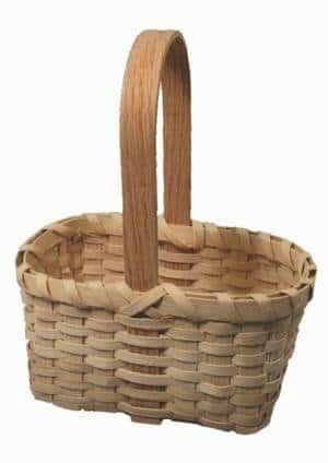 Colonial Basket Weaving Kit